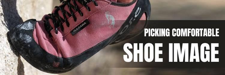Picking-comfortable-shoe-image